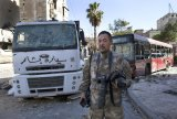 Japanese Trucker Spotted Wandering Around Syrian Warzone