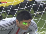 Jordan May Have Won Qualifier Match over Japan with Impromptu Laser Light Show