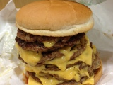 """We Try Lotteria's Monstrous 9 Pattied """"QBurger"""""""