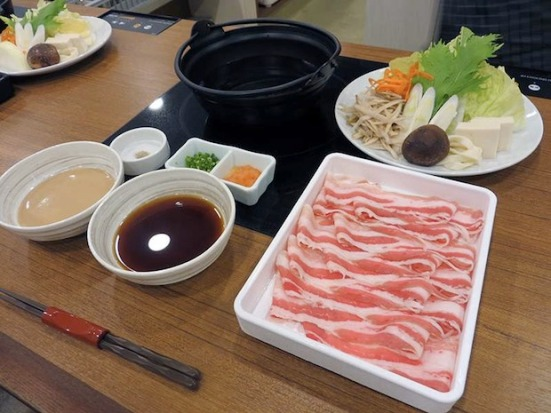 Seven types of hot pot are included on the menu (pic: Japan Trends)