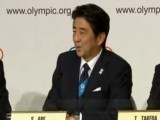 Abe Promises Best Olympics Ever for 2020