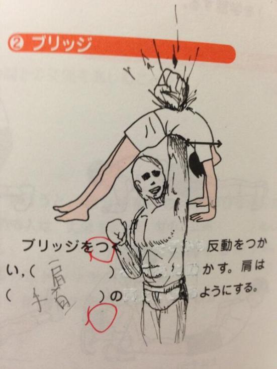 TB punch through chest