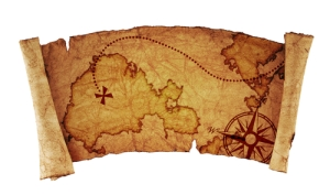 No old-timey pirates' maps were found inside the bottles (pic: Shutterstock)