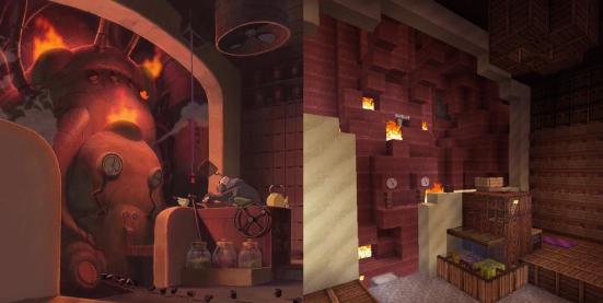 9 boiler room