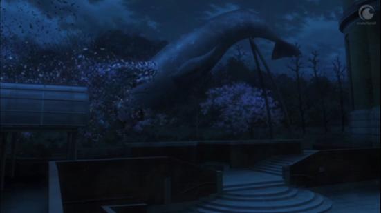 Ueno Park's whale