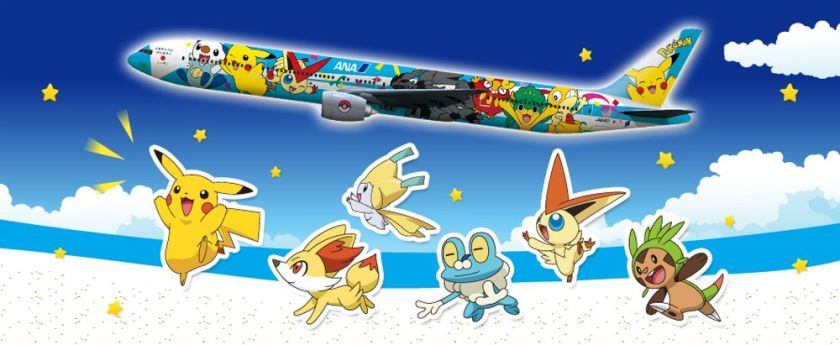 Q: How do you get Pikachu on a plane? A: Poke him on