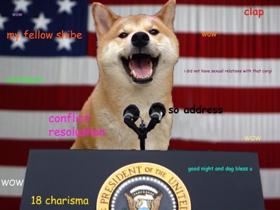 president shiba