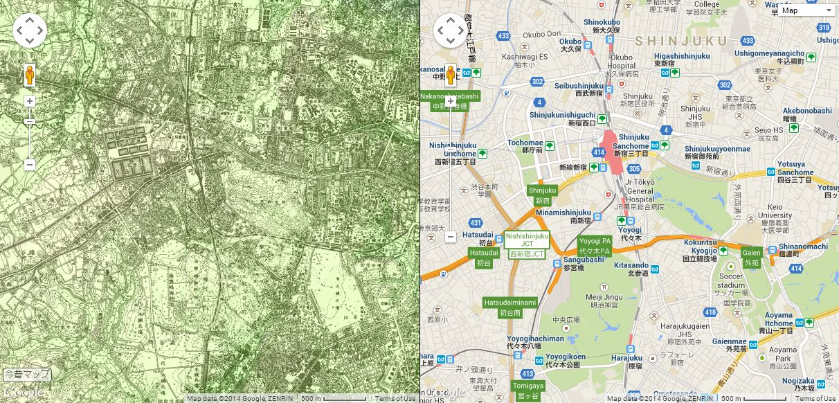 Compare Maps of Tokyo from 1896 and the Present Day Side by Side ...