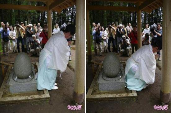 The Butt Washing Stone in action