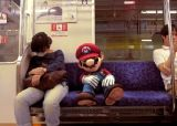 Video: Mario Travels Through Real-Life Tokyo, Falls Asleep on Subway