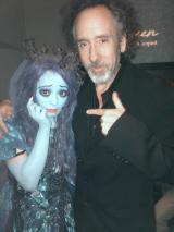 Kyary Pamyu Pamyu Dresses as the Corpse Bride for Halloween, Meets TimBurton