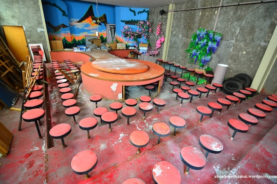 """How can you not feel sexy in a room like this?"" - An abandoned strip club in Okayama"
